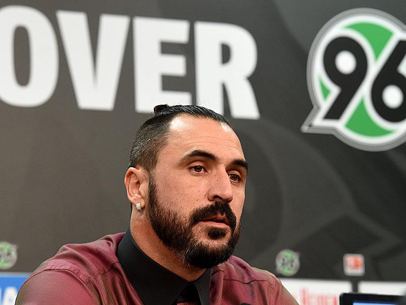 Hannover 96 - Neuzugang Hugo Almeida